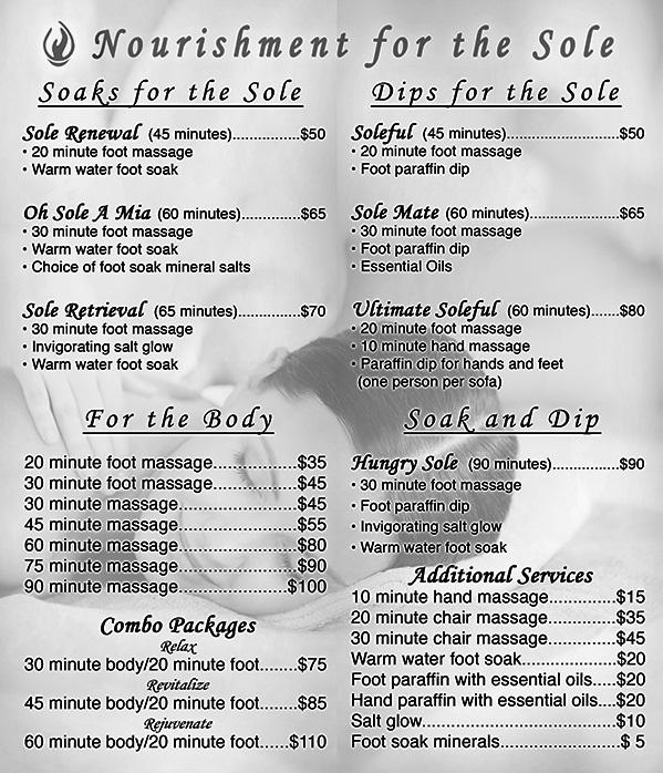Massage Rates Footloose Massage In Eugene Oregon